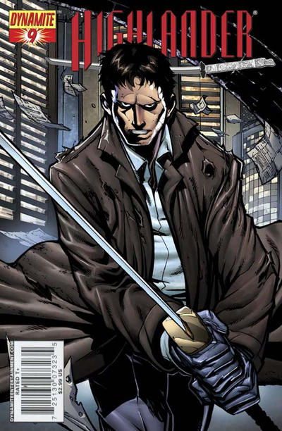 Cover for Highlander (Dynamite Entertainment, 2006 series) #9 [Cover D Pat Lee]