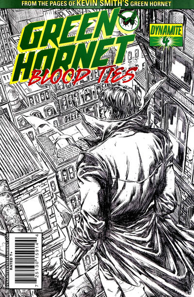 Cover for Green Hornet: Blood Ties (Dynamite Entertainment, 2010 series) #4