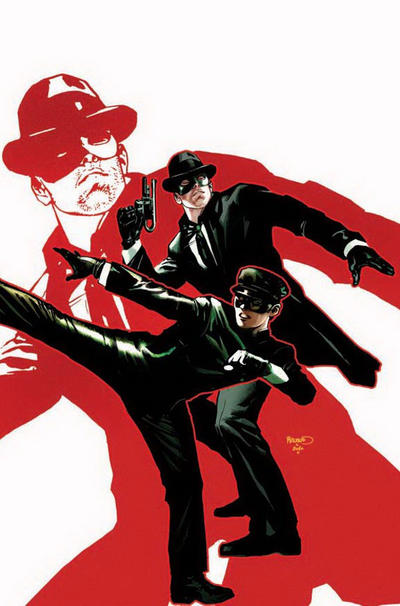 Cover for Green Hornet: Parallel Lives (Dynamite Entertainment, 2010 series) #1 [DF Exclusive Virgin Art]