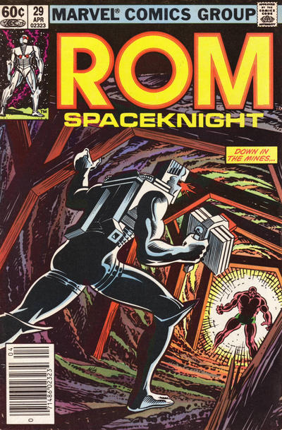 Cover for ROM (Marvel, 1979 series) #29 [Newsstand Edition]