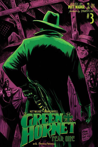 Cover for Green Hornet: Year One (Dynamite Entertainment, 2010 series) #3 [Cover A - John Cassaday]