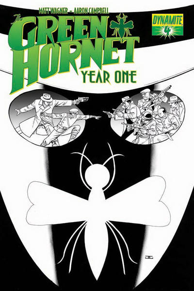 Cover for Green Hornet: Year One (Dynamite Entertainment, 2010 series) #4 [Cover A - John Cassaday]