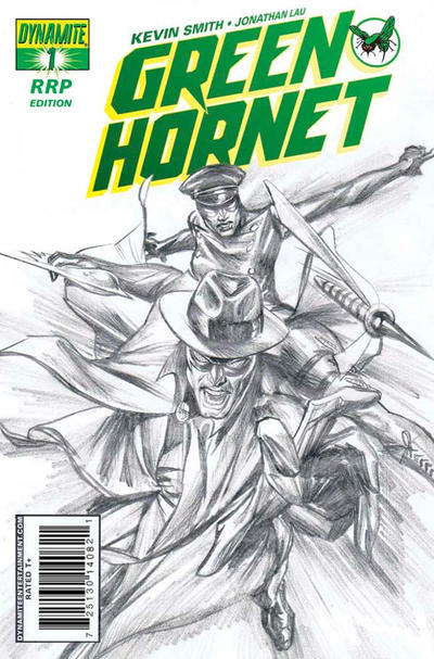 Cover for Green Hornet (Dynamite Entertainment, 2010 series) #1 [5. John Cassaday Regular]