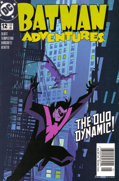 Cover for Batman Adventures (DC, 2003 series) #12 [Newsstand Edition]