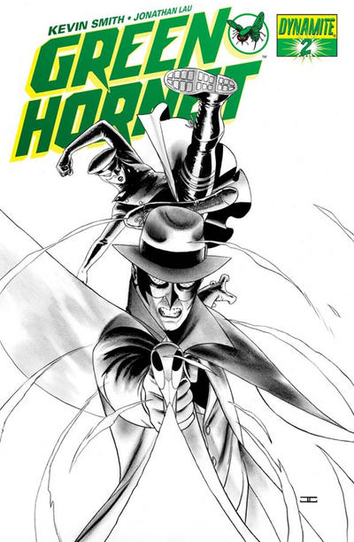 Cover for Green Hornet (Dynamite Entertainment, 2010 series) #2 [Cassaday RI]