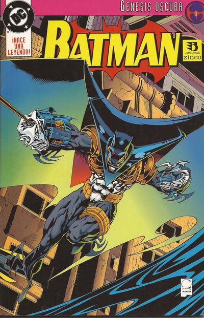 Cover for Batman: Génesis Oscura (Zinco, 1993 series)