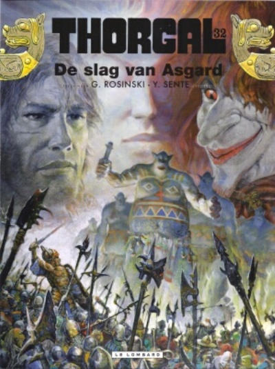 Cover for Thorgal (Le Lombard, 1980 series) #32 - De slag van Asgard