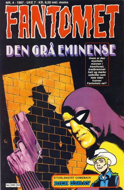 Cover for Fantomet (Semic, 1976 series) #4/1987