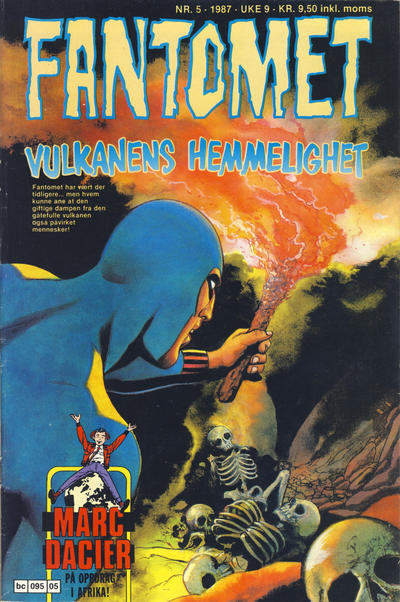 Cover for Fantomet (Semic, 1976 series) #5/1987