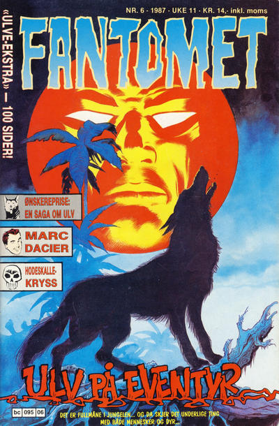 Cover for Fantomet (Semic, 1976 series) #6/1987