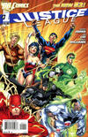 Cover for Justice League (DC, 2011 series) #1 [Jim Lee / Scott Williams Cover]