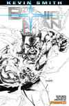 Cover for Bionic Man (Dynamite Entertainment, 2011 series) #1 [Cover RI - Stephen Segovia Black and White Variant]