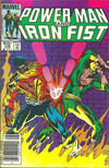 Cover Thumbnail for Power Man and Iron Fist (1981 series) #108 [newsstand]
