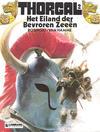 Cover for Thorgal (Le Lombard, 1980 series) #2 - Het Eiland der Bevroren Zeeën [Herdruk 1985]