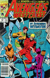 Cover for Avengers West Coast (Marvel, 1989 series) #67 [Newsstand]
