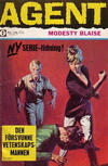 Cover for Agent Modesty Blaise (Semic, 1967 series) #2