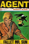 Cover for Agent Modesty Blaise (Semic, 1967 series) #4