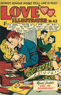 Cover Thumbnail for Love Illustrated (Magazine Management, 1952 series) #43