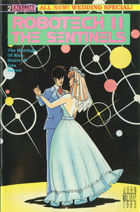 Cover Thumbnail for Robotech II: The Sentinels: Wedding Special (Malibu, 1989 series) #2