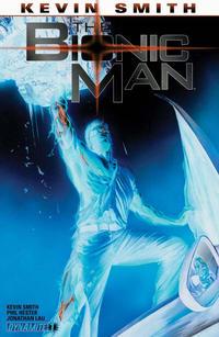 Cover Thumbnail for Bionic Man (Dynamite Entertainment, 2011 series) #1 [Ross Negative Art RI]