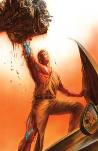 Cover Thumbnail for Bionic Man (Dynamite Entertainment, 2011 series) #1 [Ross DF Exclusive Virgin Cover]