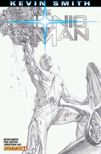 Cover Thumbnail for Bionic Man (Dynamite Entertainment, 2011 series) #1 [Cover RI - Alex Ross Sketch Variant]
