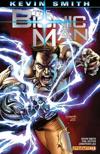 Cover Thumbnail for Bionic Man (Dynamite Entertainment, 2011 series) #1 [Stephen Segovia Variant]