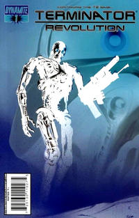 Cover Thumbnail for Terminator: Revolution (Dynamite Entertainment, 2008 series) #1 [Negative Art RI]