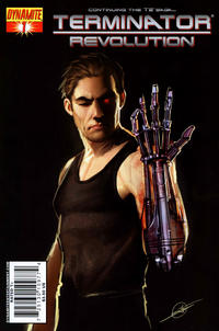 Cover Thumbnail for Terminator: Revolution (Dynamite Entertainment, 2008 series) #1 [Cover B]