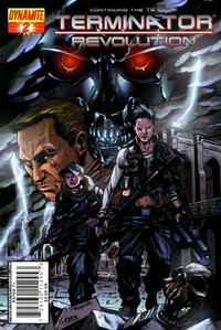Cover Thumbnail for Terminator: Revolution (Dynamite Entertainment, 2008 series) #2 [Cover B]