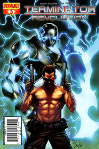 Cover Thumbnail for Terminator: Revolution (Dynamite Entertainment, 2008 series) #3 [Cover B]