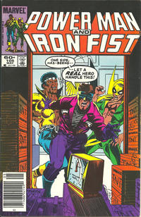 Cover Thumbnail for Power Man and Iron Fist (Marvel, 1981 series) #105 [newsstand]