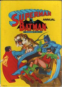 Cover Thumbnail for Superman & Batman Annual (Brown Watson, 1973 series) #1974