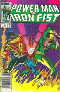 Cover Thumbnail for Power Man and Iron Fist (Marvel, 1981 series) #108 [newsstand]