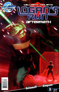 Cover Thumbnail for Logan's Run (Bluewater / Storm / Stormfront / Tidalwave, 2011 series) #3