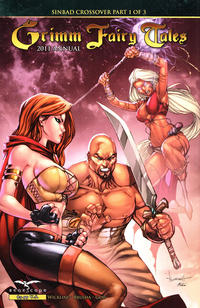 Cover Thumbnail for Grimm Fairy Tales 2011 Annual (Zenescope Entertainment, 2011 series)  [Cover D - Alé Garza]