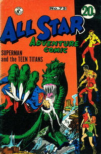 Cover Thumbnail for All Star Adventure Comic (K. G. Murray, 1959 series) #73