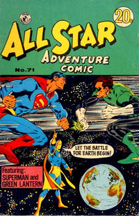 Cover Thumbnail for All Star Adventure Comic (K. G. Murray, 1959 series) #71