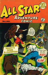 Cover Thumbnail for All Star Adventure Comic (K. G. Murray, 1959 series) #68