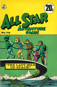 Cover Thumbnail for All Star Adventure Comic (K. G. Murray, 1959 series) #78