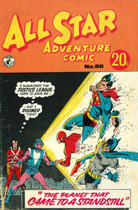 Cover Thumbnail for All Star Adventure Comic (K. G. Murray, 1959 series) #80