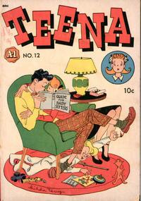 Cover Thumbnail for A-1 (Magazine Enterprises, 1945 series) #12