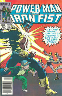 Cover Thumbnail for Power Man and Iron Fist (Marvel, 1981 series) #112 [newsstand]