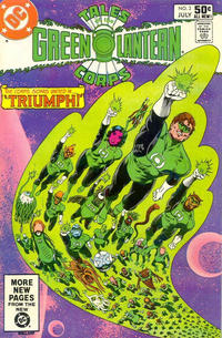 Cover Thumbnail for Tales of the Green Lantern Corps (DC, 1981 series) #3 [Direct]