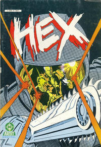 Cover Thumbnail for Hex (Arédit-Artima, 1986 series) #4