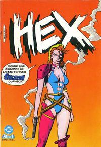 Cover Thumbnail for Hex (Arédit-Artima, 1986 series) #5