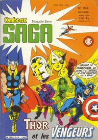 Cover Thumbnail for Ombrax-Saga (Editions Lug, 1986 series) #243