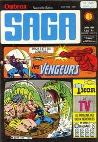 Cover Thumbnail for Ombrax-Saga (Editions Lug, 1986 series) #245