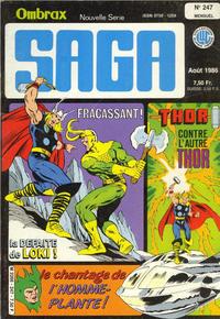 Cover Thumbnail for Ombrax-Saga (Editions Lug, 1986 series) #247