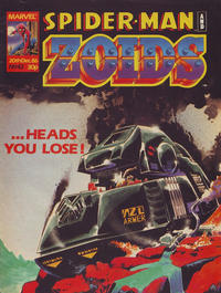 Cover Thumbnail for Spider-Man and Zoids (Marvel UK, 1986 series) #42